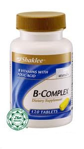 B Complex Shaklee (Part I)