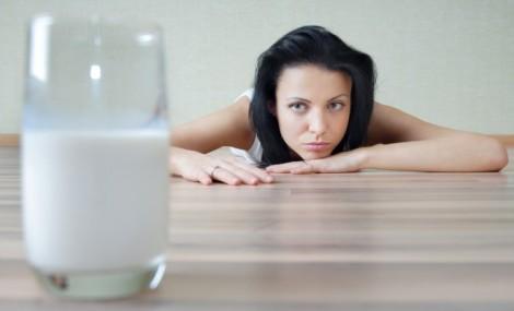 Alahan terhadap susu atau laktosa