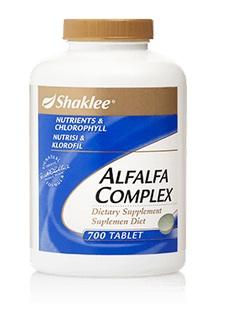 Alfalfa untuk rawat kencing tak lawas