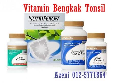 vitamin rawat tonsil