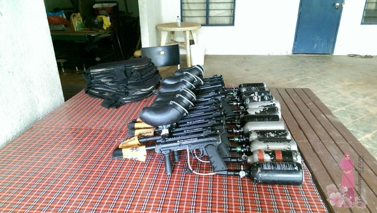 paintball maker, paintball gun, Painball Tanamera Sungai Buloh