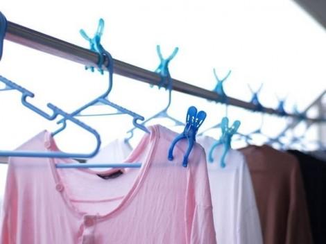 masalah untuk hilangkan baju berbau hapak dan lembap