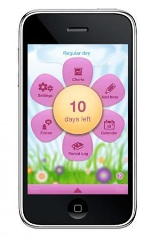 Aplikasi untuk period diary bagi menyimpan semua data kitaran haid