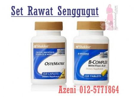 Sakit senggugut boleh dirawat dengan bcompleks dan ostematrix