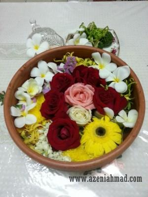 kelebihan mandi bunga dan garam