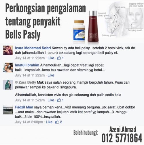 cara rawat bells pasly