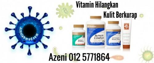Vitamin rawat kulit berkurap