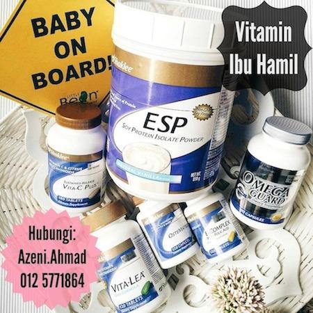 Vitamin untuk ibu mengandung pada usia 40 tahun ke atas