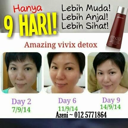 Detox badan dengan vivix