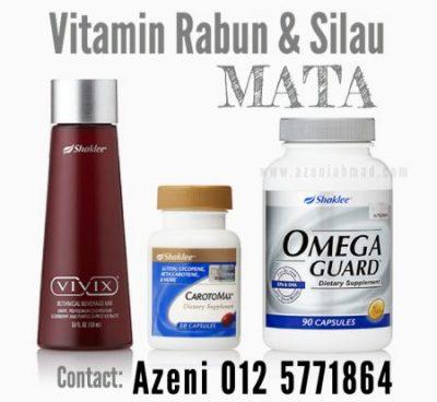 vitamin rabun dan silau mata