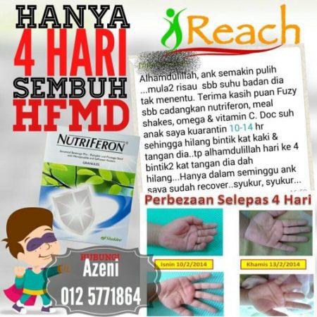 cara rawat hfmd dengan cepat