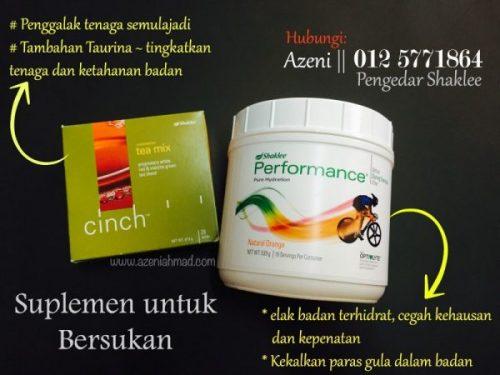 Suplemen vitamin untuk bersukan renang