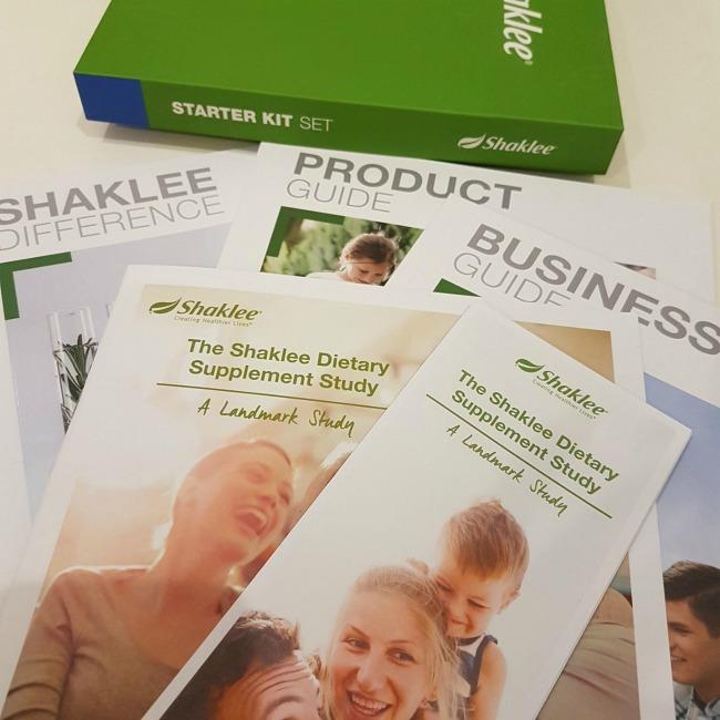starter kit Shaklee baru