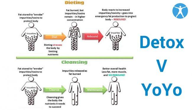 Apa beza detox dengan Diet