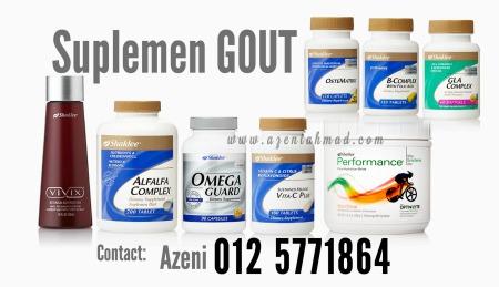suplemen gout cepat sembuh