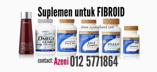 suplemen kecutkan fibroid