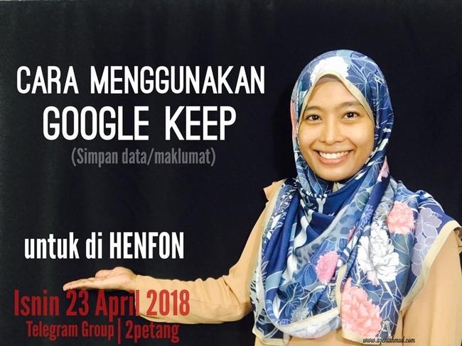 toturial tentang Google Keep