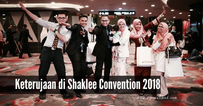 keterujaan Shaklee Convention 2018