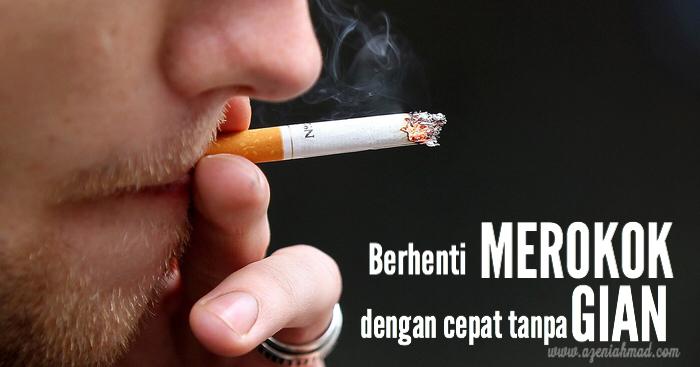 berhenti merokok tanpa gian