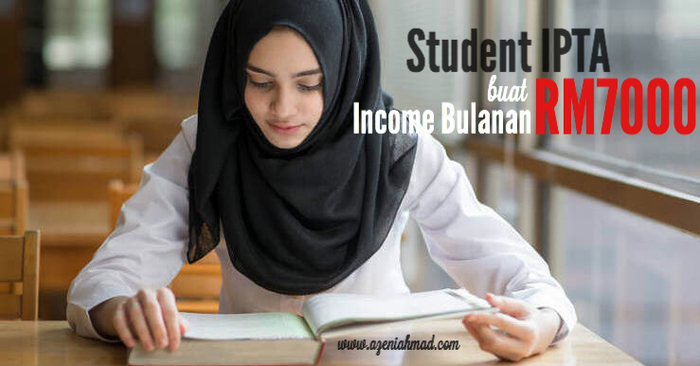 student IPTA buat side income business