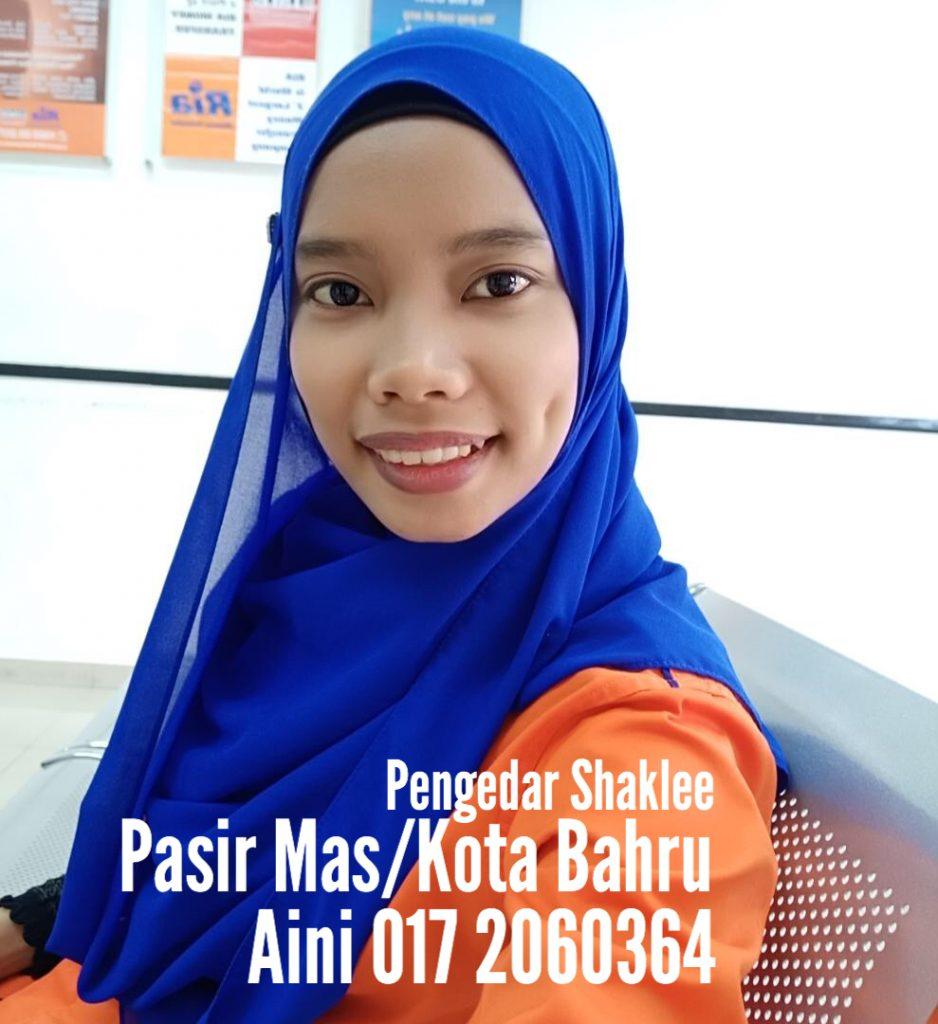 Agen Shaklee Kota Bharu dan Pasir Mas Kelantan